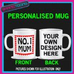 NUMBER ONE 1 MUM MUG BIRTHDAY MOTHERS DAY GIFT PERSONALISED